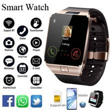 DZ09 Relógios Inteligentes 2018 Homem Relógio Digitais dos homens Relógio Smartwatch Bluetooth Se Conectar Android SIM Card TF para o iphone Samsung HUAWEI