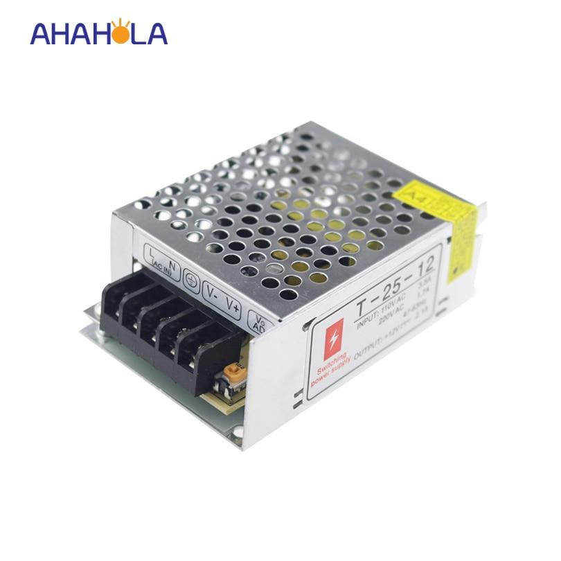 small size ac 110v 220v switching to dc power supply 12v 2a 24w transformer