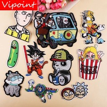 VIPOINT embroidery panda cats patches cartoon badges applique for clothing YX-67