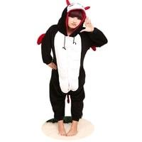 Mal Cosplay Costumes Poke lun de Bande Dessinée Pyjamas Amine De Nuit Costume Hoodie Adulte Onesies Robe Diable Parti Diable salopette