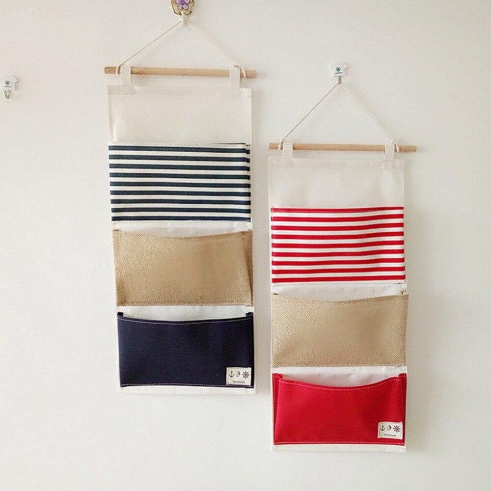 fabric wall pockets