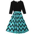 Mother Daughter Matching Dresses Women Girls Long Casual Dress Family Clothes