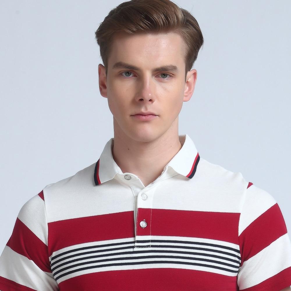 Mwxsd marca de calidad superior del verano de los hombres polo camisa - Ropa de hombre - foto 2