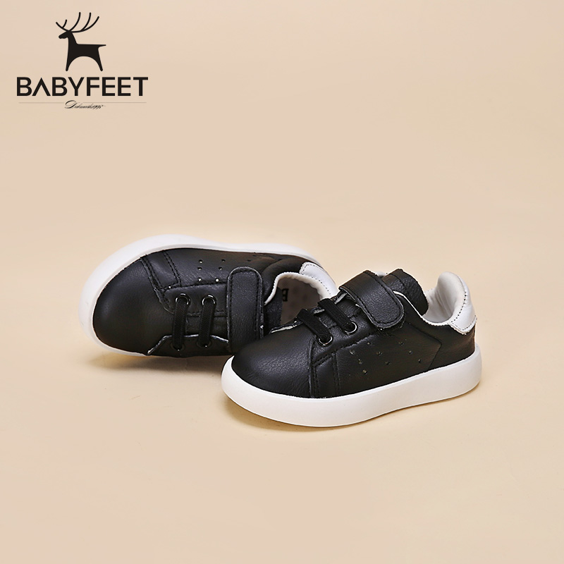 Babyfeet brand low top waterproof tenis infantil children boys casual loafers kids fashion girls shoes leather toddle sneakers babyfeet 2017 winter children shoes fashion warm suede leather sport running school tenis girl infant boys sneakers flat loafers