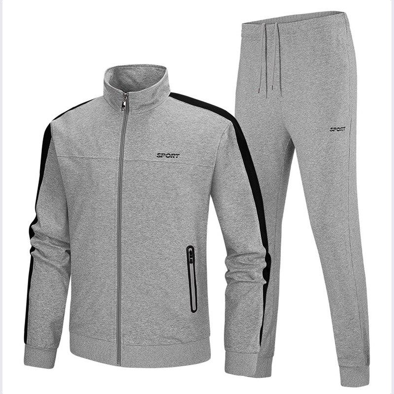 Jogging costumes pour hommes Gym vêtements hommes Gym Hombre entraînement vêtements pour hommes rouge hommes Sport ensemble hommes vêtements de plein air Sport porter