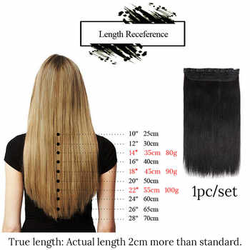 MRSHAIR One Piece Set 5 Clip in Human Hair Extension Machine Made Remy Hair Straight Clip Ins Hair Extensions 14 18 22 Inch