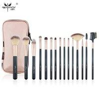 Anmor Professional Makeup Brush Set New 15 PCS High Quality Synthetic Makeup Brushes BK001