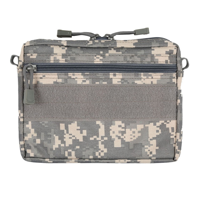 New Outdoor Hunting Tool Pouch Molle Military Combat Gear Plug-in Debris Waist Bag Hunting Tool Multicam Black Coyote Brown