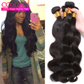 Peerless Virgin Hair Peruvian Body Wave Grade 8A Unprocessed Virgin Hair 4 Pcs Luxy Hair Company Body Wave Weave Bundles
