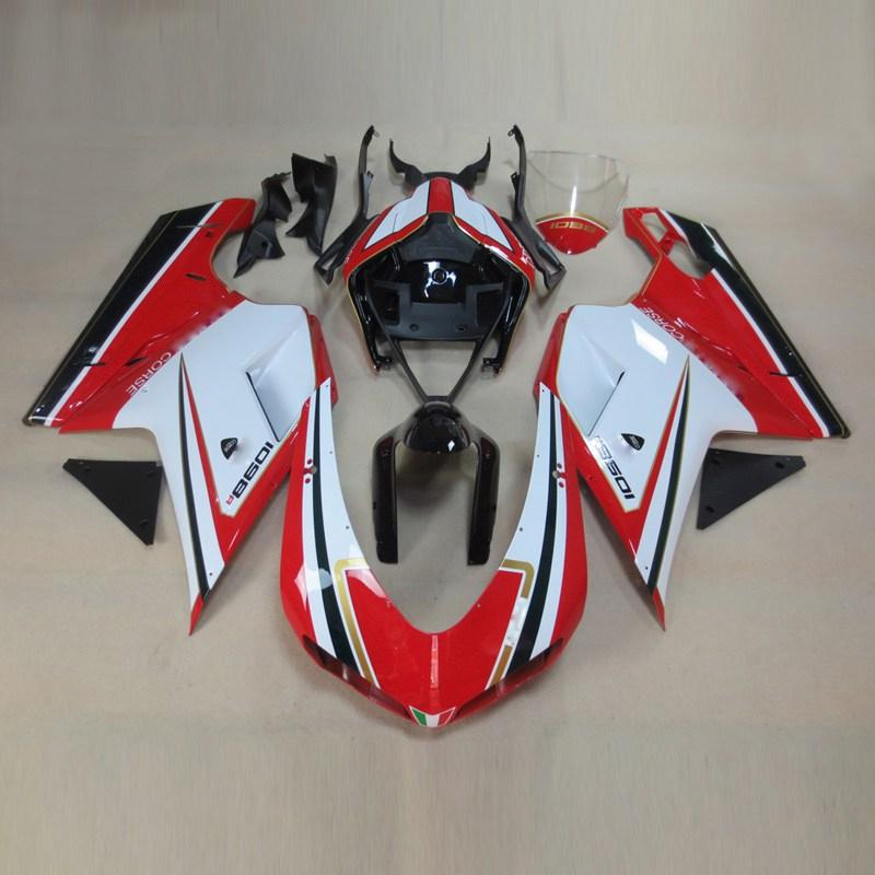 Plans to customize for ducati 1098 1198 848 2007-2011 injection molding abs plastic motorcycle fairin