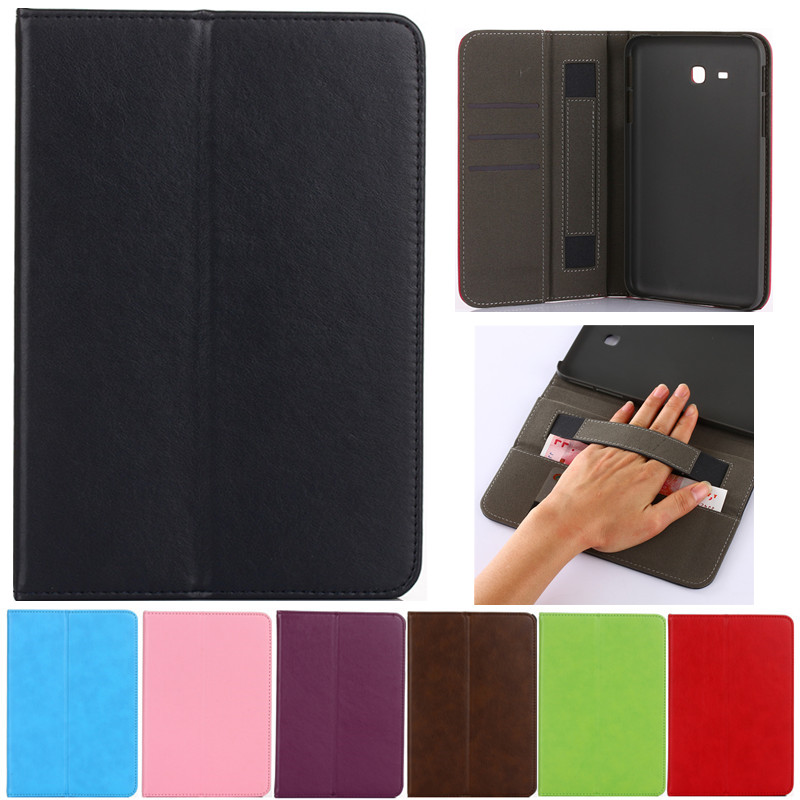 Luxury Tablet case Cover For Samsung Galaxy Tab 3 Lite 7.0 T110 T111 PU Leather Flip Case Wallet Card Stand cover With Holder keymao luxury flip leather case for samsung galaxy s7 edge