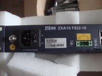 ZTE ZXA10 F822 16 16 ports 16FE+16POTS with 16 voice ONU EPON optical switch