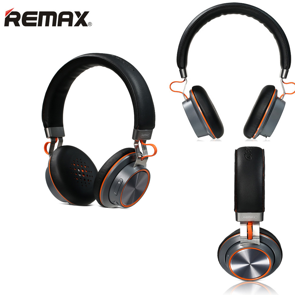 2017 REMAX RB-195HB Bluetooth 4.1 Wireless Headphones Sport HIFI Bass Headset with Microphone Noise Cancelling Stereo Headset remax rb s6 wireless bluetooth earphone headphones with microphone sport stereo bluetooth headset for iphone android phone