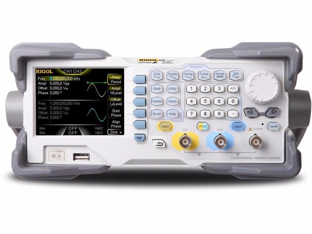 Генератор произвольных функций Rigol DG1022Z, 25 МГц, со вторым каналом