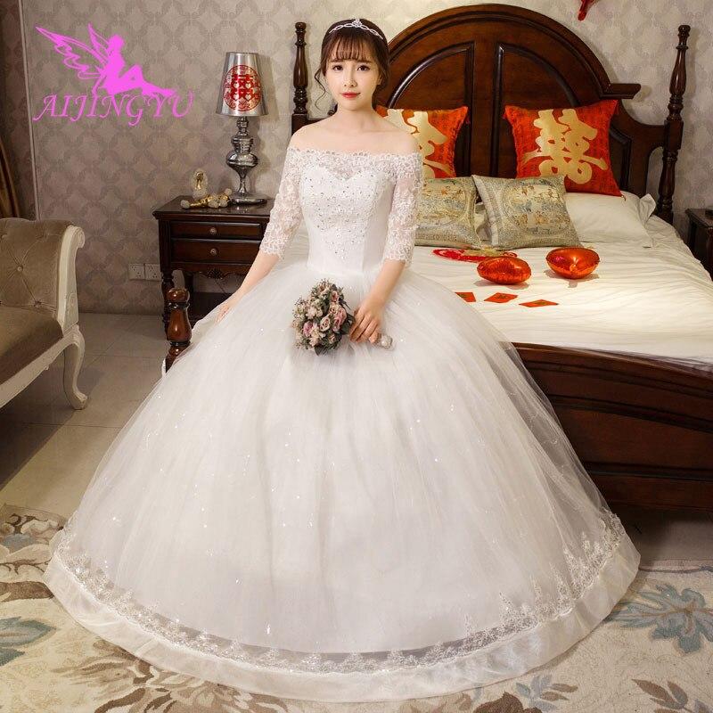 AIJINGYU dresses ever pretty wedding gowns 2018 WU106