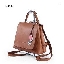 S.P.L. женская мода сумка бисероплетение дизайн сумка из искусственной кожи сумка женская повседневная сумка дамы рюкзак сумка