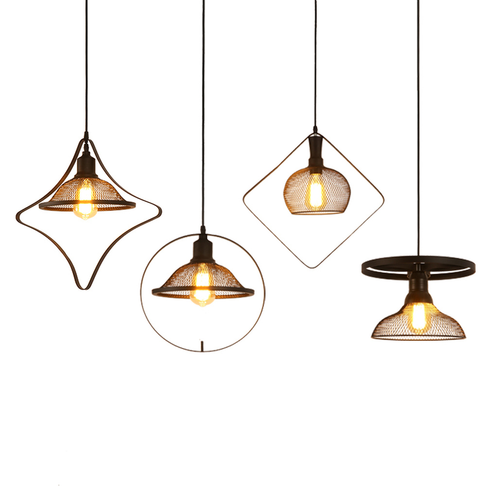 Magasin de vêtements scandinave lampes suspendues lampe de salle à manger lampes de décoration vent industriel personnalité créative LU814908