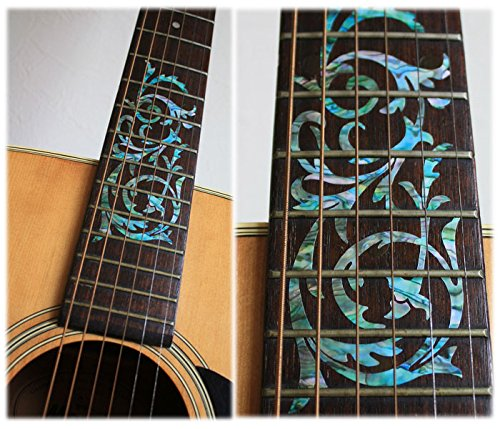Fretboard Markers Inlay Sticker Decals for Guitar - Ornamental Swirl Mixed-Color markers affecting colorectal carcinogensis
