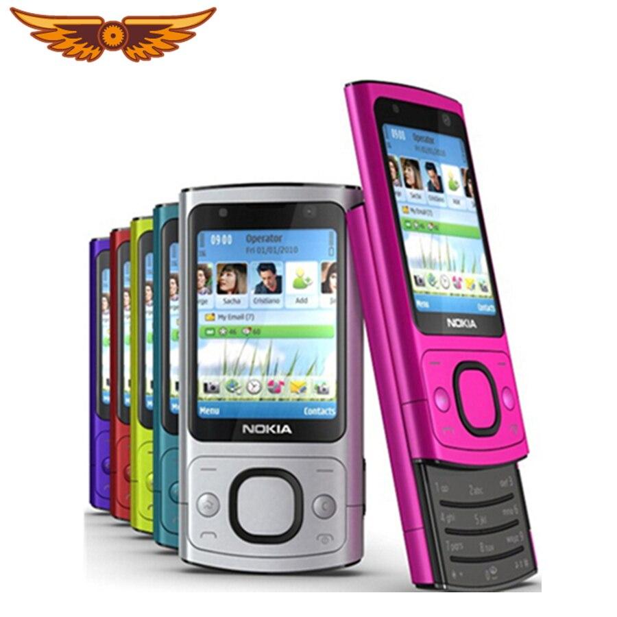 Original 6700s NOKIA Mobile Phone Camera 5.0MP Bluetooth Java Unlocked 6700 Slide Phone