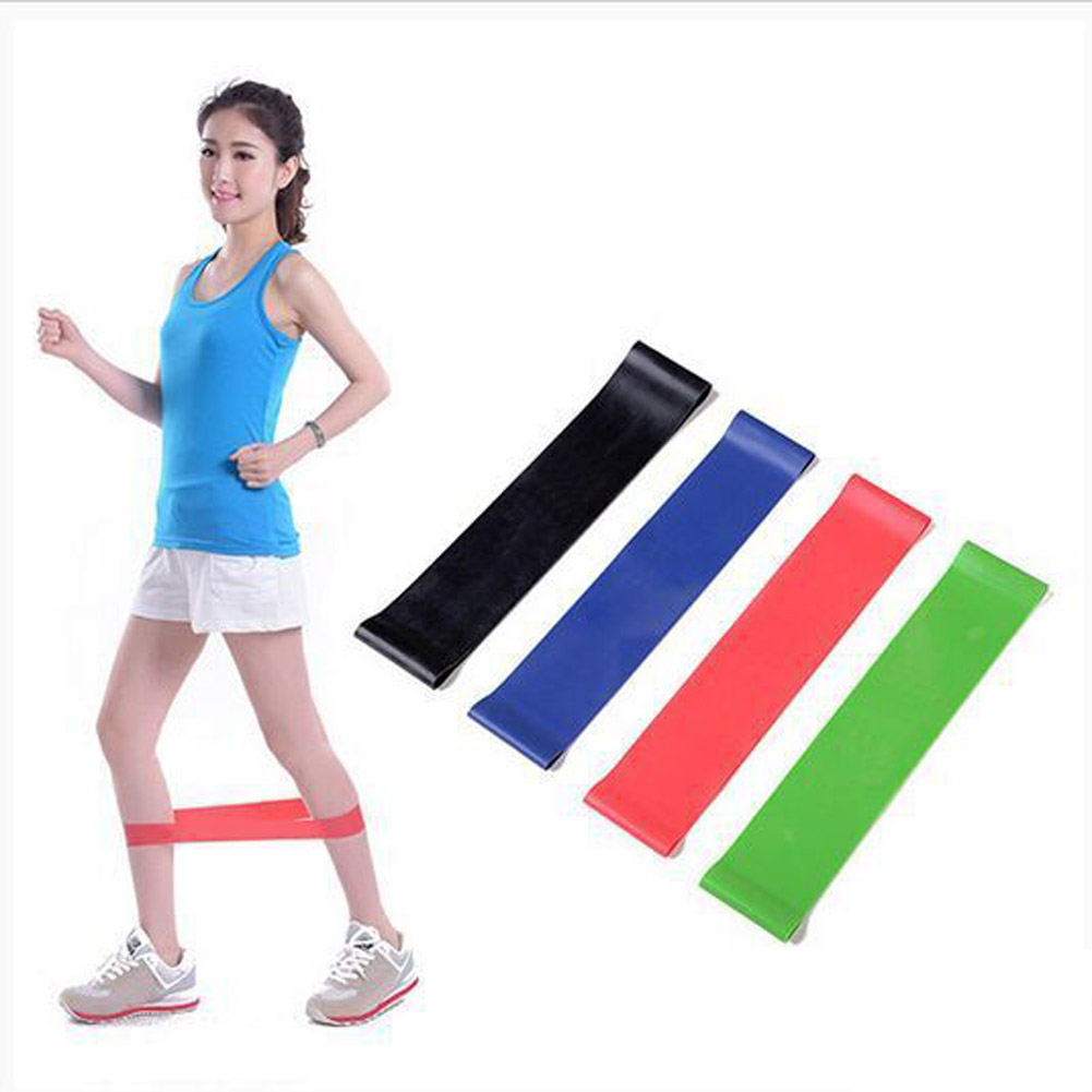 4PCS/Set Resistance Band fitness Latex Gym Strength Training Rubber Loops Bands Fitness Cross Fit Equipment ...