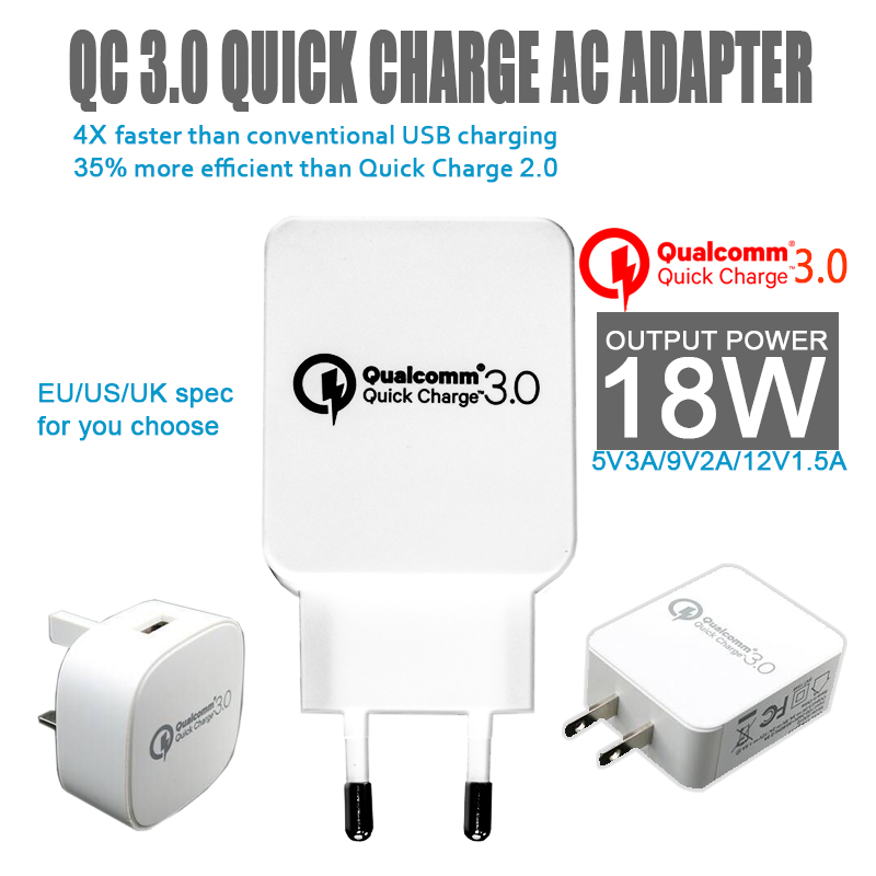 Eu To Aus Travel Adapter Qc2 0 Qc3 0 Adapter 9v 1 67a Android Adapter Realm Microsoft Xbox Wireless Adapter Xbox 360: Universal Eu Plug Usb Travel Ac Adapter Charger Qualcomm