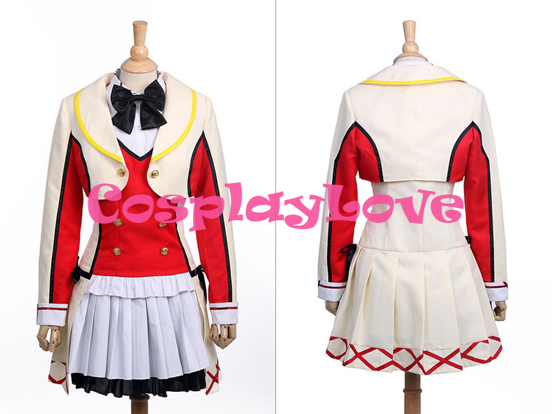 US $89 95 |New Custom Made Japanese Anime Love Live! School Idol Project  Season 2 Honoka Kosaka Cosplay Costume Halloween Costume-in Anime Costumes