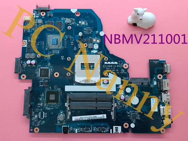 Z5WAW LA-B702P NBMV211001 For Acer Aspire E5-572G Laptop Motherboard System Board Main Board DDR3L S947 HM86 Nvidia GeForce 940M