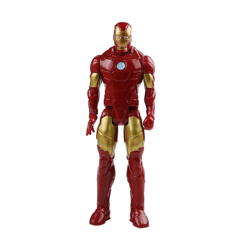 30 см Marvel Мстители эндшпиль танос Человек-паук Халк Железный человек Капитан Америка Тор Росомаха Веном Фигурка Игрушки Кукла Детская - Цвет: iron man no box