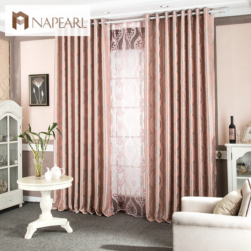Luxury Chinese Curtains Living Room Curtains Window Blackout Modern Curtain  Fabric For Balcony Drapes(China