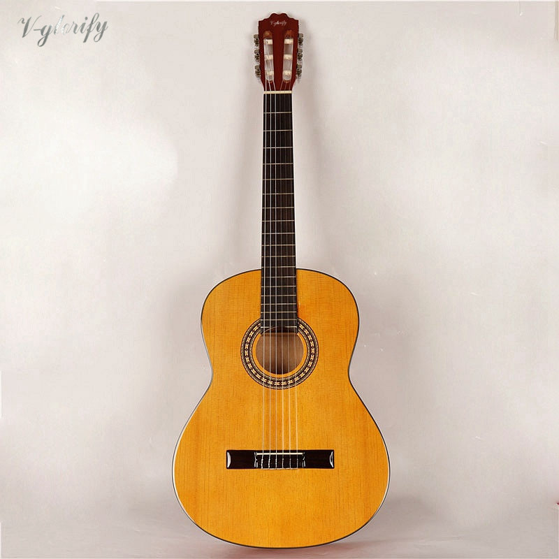 good quality classic guitar with free bag with EQ tuner function factory special offer