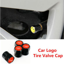 10 компл. Тюнинг автомобилей шина колпачки автомобиля эмблема Автоаксессуары клапан крышки шины клапан Шапки