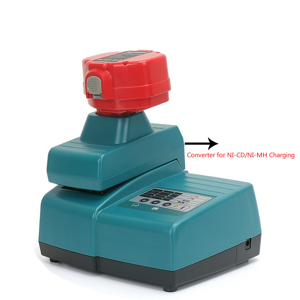 For Makita battery charger 7.2V-18V NI-MH NI-CD Li-ion battery universal adapter DC18RC lithium battery Charger with Converter bcl1415 14 4v ni cd ni mh battery for hitachi bcl1415 18v ni cd ni mh battery