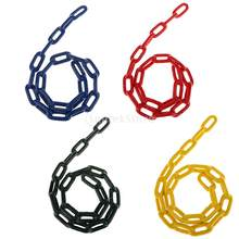 Durable Soft Plastic Coated Iron Swing Chain Swing Rope Swing Accessory Kids Outdoor Sports Toy(China)