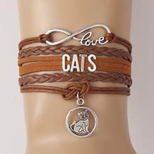 Amazing CATS LOVE bracelet / 5 Colors