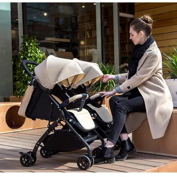 Wózek dla bliźniąt lekki wózek odpinany wózek bliźniak 3C ombrelle pousette plegable tweeling podwójny wózek sprzedaż tanie i dobre opinie Ecoz CN (pochodzenie) 25kg Numer certyfikatu 13-18 M 2-3Y 4-6 M 7-9 M 19-24 M 4-6y 10-12 M 0-3 M