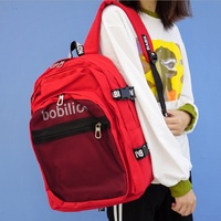 Moda List Kobiety Przestrzeń Student Szkoła Torby Plecak Junior Dziewczyny Bookbag Podróż Mesh Harajuku Plecak Mochila Bagpack