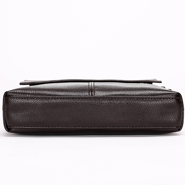 Fashion men bags, men casual leather messenger bag, high quality man brand business bag men's handbag 2