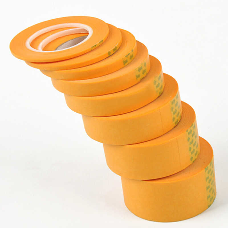 Accessoires de pulvérisation de ruban artisanal 2mm/3mm/6mm 18 M/59.1 pied ligne Fine masquant un rouleau