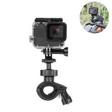 лучшая цена SHOOT O Shape Handlebar Clamp Mount For GoPro Hero 7 6 5 4 Black Xiaomi Yi 4K Sjcam Sj4000 Eken Cycling for Go Pro 6 5 Accessory