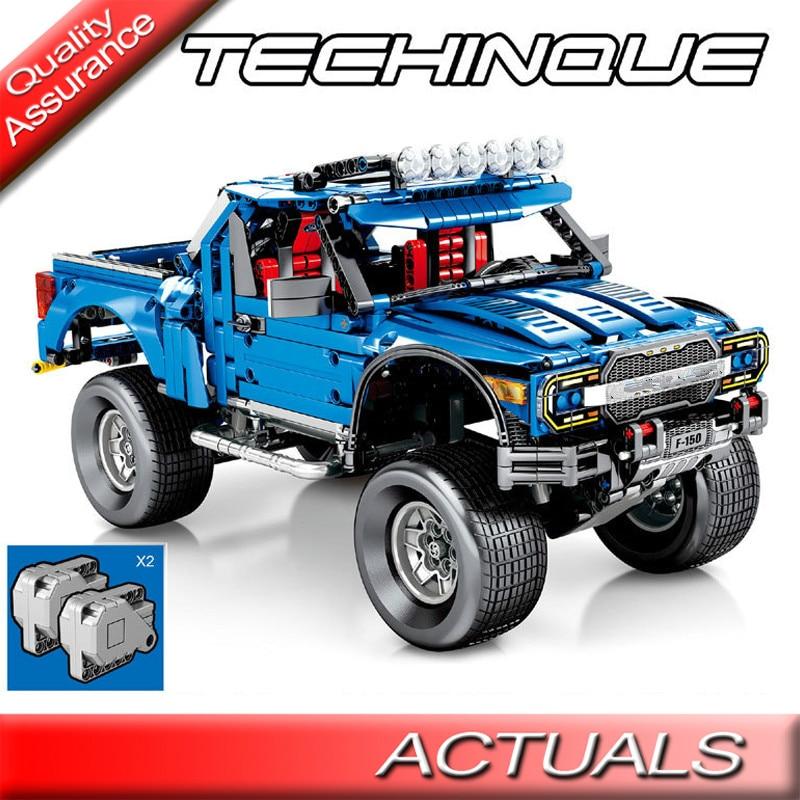 Sembo 701970 Technic le F-150 Raptor pick-up blocs de construction classique voiture camion modèle briques enfants jouets