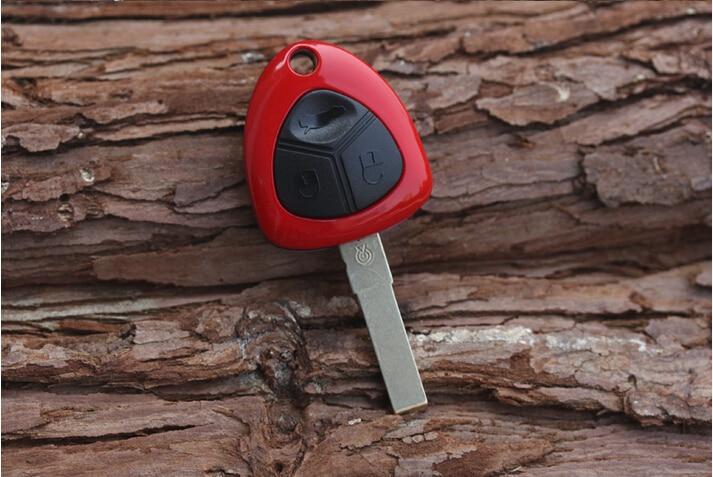 3 Knöpfe Fernschlüsseloberteil Fall Für Ferrari 599 458 612 GT F12 Fob Tastaturabdeckung