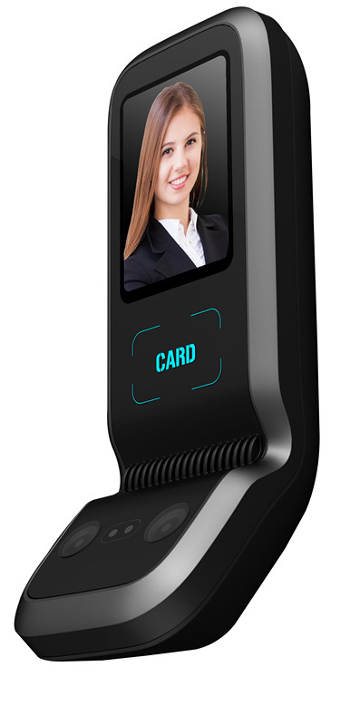 Face Recognition Door Access Control With ID Card Reader Professional Door Access Facial Recognition FaceA1