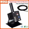 Easy Angle CO2 Jet Machine Dmx 512 Control 2channel Stage Cryo Co2 Jets ABS Nozzle Material