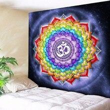 3718709c3def Colorido Mandala Tapeçaria Tapeçaria Tapeçarias Indianas Hippie Boho  Tapeçaria Decoração Da Parede Pano Esteiras da Ioga Chakra .
