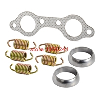 NICECNC Motorcycle Exhaust Manifold Gasket and Spring Rebuild Kit Polaris Sportsman 600 700 2003 2006 Number 5811511 3610047