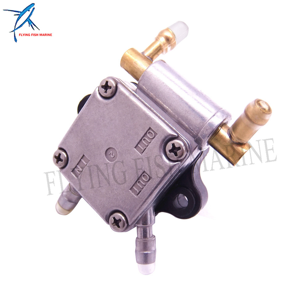 90HP Boats 2//4T 6MM 6Y1-24360-52 PRIMER PUMP ASSY Fuel for Yamaha Outboard 6HP