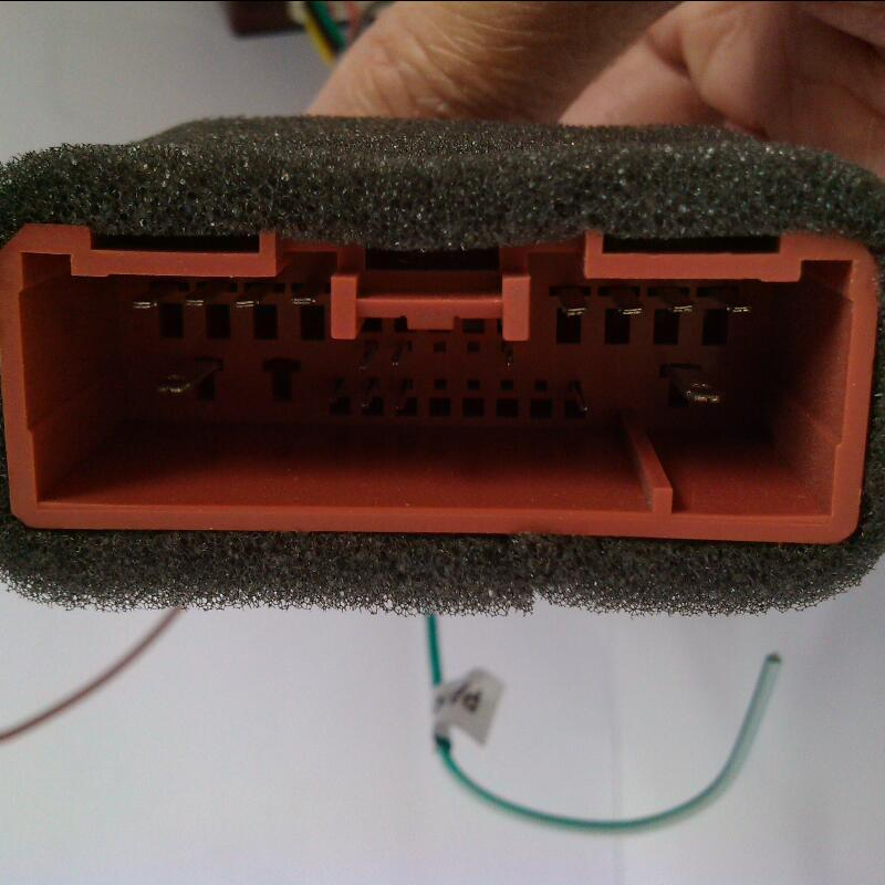 Connector for original plug