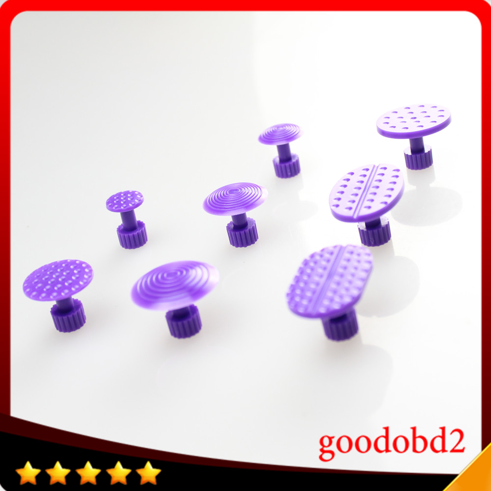 8pcs/set Dent Removal Glue Tabs Dent Repair Tool Glue Tabs Paintless Dent Remover Tools Auto Body Dent Repair Tool Car PDR Tools ...