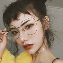 Newest Clear Glasses Men Luxury Brand Sunglasses Myopia Lens Frame Oversize Suqare Eyeglasses Women