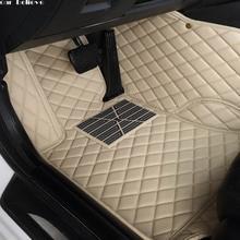 Car Believe Auto car floor Foot mat For nissan qashqai j10 x trail t31 murano patrol y61 tiida teana waterproof car accessories